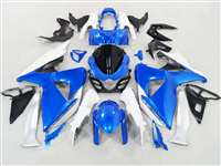 2009-2016 Suzuki GSXR 1000 Blue/White Fairings | NS10916-12