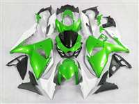 2009-2016 Suzuki GSXR 1000 Metallic Green Fairings | NS10916-18