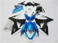 2009-2016 Suzuki GSXR 1000 Black/Blue Fairings | NS10916-27