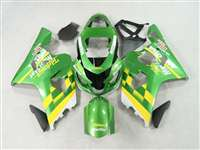 Green Movistar 2004-2005 Suzuki GSXR 600 750 Motorcycle Fairings | NS60405-1