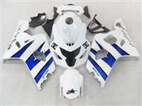 2004-2005 Suzuki GSXR 600 750 Blue/White Fairings | NS60405-10