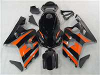 Orange/Black 2004-2005 Suzuki GSXR 600 750 Motorcycle Fairings | NS60405-11