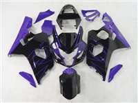 2004-2005 Suzuki GSXR 600 750 Black/Purple Accents Fairings | NS60405-16