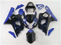 Black/Blue Accents 2004-2005 Suzuki GSXR 600 750 Motorcycle Fairings | NS60405-17