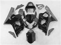 Black/Silver Accents 2004-2005 Suzuki GSXR 600 750 Motorcycle Fairings | NS60405-18