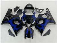 2004-2005 Suzuki GSXR 600 750 Tribal Blue Fairings | NS60405-26