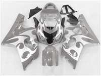 Grey Tribal 2004-2005 Suzuki GSXR 600 750 Motorcycle Fairings | NS60405-30