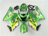 Green Movistar 2004-2005 Suzuki GSXR 600 750 Motorcycle Fairings | NS60405-33