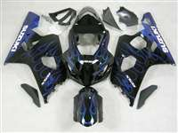 2004-2005 Suzuki GSXR 600 750 Fire and Ice Fairings | NS60405-42