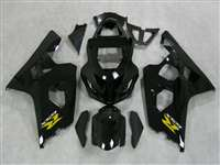 Gloss Black 2004-2005 Suzuki GSXR 600 750 Motorcycle Fairings | NS60405-46