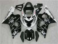 2004-2005 Suzuki GSXR 600 750 Corona Black Fairings | NS60405-48