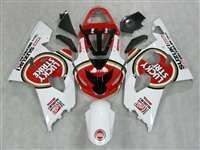 2004-2005 Suzuki GSXR 600 750 Lucky Strike Red Fairings | NS60405-54