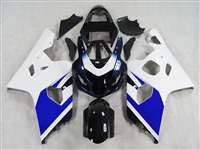 Blue/White 2004-2005 Suzuki GSXR 600 750 Motorcycle Fairings | NS60405-56