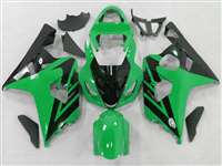 2004-2005 Suzuki GSXR 600 750 Green/Black Accent Fairings | NS60405-59
