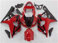 2004-2005 Suzuki GSXR 600 750 Red/Black Accent Fairings | NS60405-60