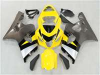 2004-2005 Suzuki GSXR 600 750 Yellow/Silver Fairings | NS60405-8