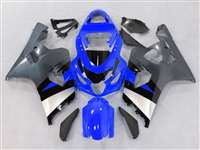 2004-2005 Suzuki GSXR 600 750 Blue/Silver Fairings | NS60405-9
