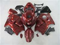 1999-2007 Suzuki GSXR 1300 Hayabusa Candy Red Ghost Fairings | NSH9907-1
