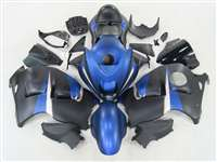 1999-2007 Suzuki GSXR 1300 Hayabusa Candy Blue/Black Fairings | NSH9907-100