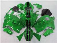 Dark Green Race 1999-2007 Suzuki GSXR 1300 Hayabusa Motorcycle Fairings | NSH9907-108