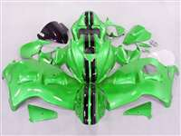 1999-2007 Suzuki GSXR 1300 Hayabusa Candy Green Racing Fairings | NSH9907-110