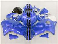 Blue Race 1999-2007 Suzuki GSXR 1300 Hayabusa Motorcycle Fairings | NSH9907-112