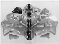 1999-2007 Suzuki GSXR 1300 Hayabusa Candy Silver Racing Fairings | NSH9907-113