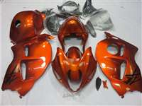 1999-2007 Suzuki GSXR 1300 Hayabusa Candy Orange Fairings | NSH9907-122