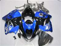 1999-2007 Suzuki GSXR 1300 Hayabusa Metallic Blue/Black Fairings | NSH9907-19