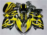 1999-2007 Suzuki GSXR 1300 Hayabusa Yellow Tribal Fairings | NSH9907-20