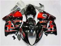 1999-2007 Suzuki GSXR 1300 Hayabusa Red Fire Fairings | NSH9907-21