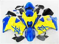 1999-2007 Suzuki GSXR 1300 Hayabusa Yellow/Blue Fairings | NSH9907-32