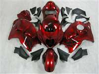1999-2007 Suzuki GSXR 1300 Hayabusa Candy Paint Red Fairings | NSH9907-55
