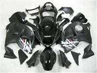 1999-2007 Suzuki GSXR 1300 Hayabusa Silver Tribal on Black Fairings | NSH9907-63