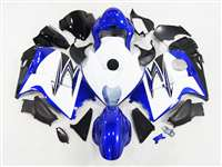 1999-2007 Suzuki GSXR 1300 Hayabusa Blue/White Fairings | NSH9907-75