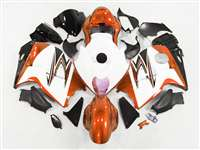 1999-2007 Suzuki GSXR 1300 Hayabusa Orange/White Fairings | NSH9907-76