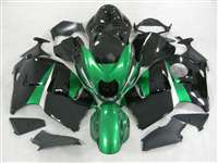 1999-2007 Suzuki GSXR 1300 Hayabusa Candy Green/Black Fairings | NSH9907-87