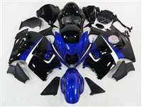 1999-2007 Suzuki GSXR 1300 Hayabusa Candy Blue/Black Fairings | NSH9907-88