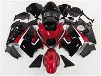 1999-2007 Suzuki GSXR 1300 Hayabusa Candy Red/Black Fairings | NSH9907-89