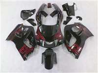 Airbrush Red 1996-2000 Suzuki GSXR 600 750 SRAD Motorcycle Fairings | NSS9600-12