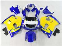 1996-2000 Suzuki GSXR 600 750 SRAD Yellow/Blue Fairings | NSS9600-18