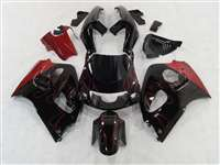 1996-2000 Suzuki GSXR 600 750 SRAD Red Flame Fairings | NSS9600-2