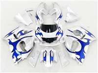1996-2000 Suzuki GSXR 600 750 SRAD Blue Tribal Fairings | NSS9600-21