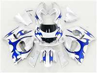 1996-2000 Suzuki GSXR 600 750 SRAD Blue Tribal Fairings | NSS9600-24