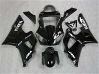 2000-2001 Yamaha YZF R1 Black Ghost Flame Fairings | NY10001-12