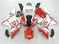 2000-2001 Yamaha YZF R1 Red FIAT Fairings | NY10001-15