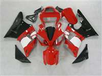 2000-2001 Yamaha YZF R1 Red/White OEM Style Fairings | NY10001-16