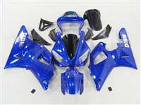 2000-2001 Yamaha YZF R1 Ghost Flame Blue Fairings | NY10001-18