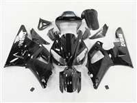 2000-2001 Yamaha YZF R1 Black Ghost Flame Fairings | NY10001-19