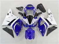 2000-2001 Yamaha YZF R1 Blue/White Fairings | NY10001-20